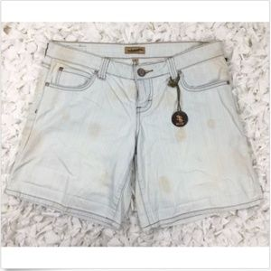 STS Blue Women's Short Size 9 Faded Blue 5 Pocket